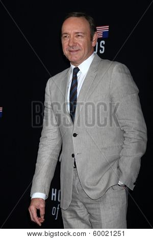 LOS ANGELES - FEB 13:  Kevin Spacey at the