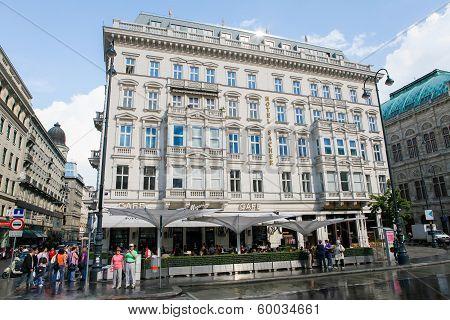 Hotel Sacher In Vienna