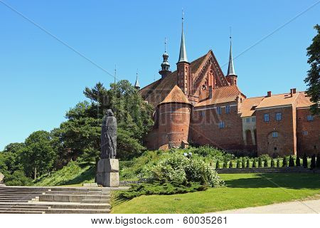 Cathedral In Frombork, Poland