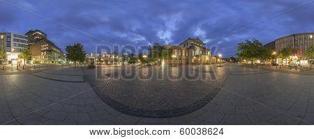 Staatsoper Hannover. 360 Degree Panorama.
