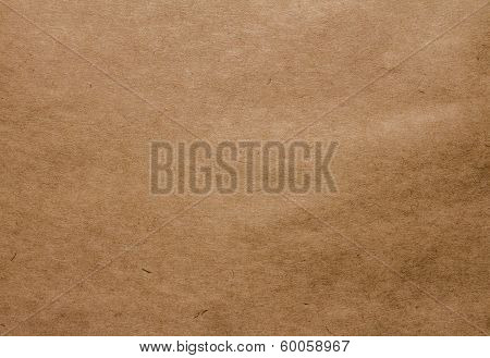 Designed Grunge Brown Natural Recycled Paper Texture, Background