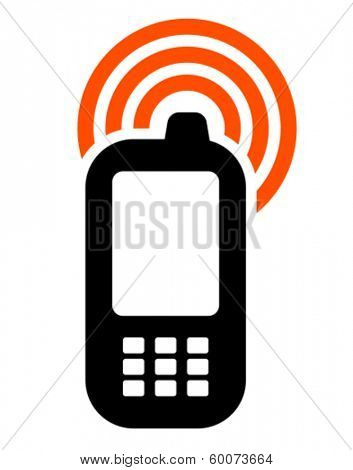 Mobile phone with GSM signal