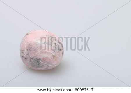 Close Up Of An Rhodochrosite  Stone