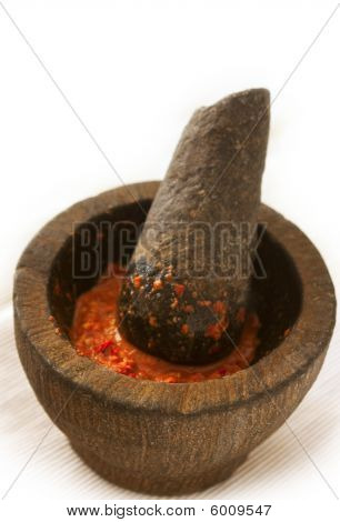 Traditional Indonesian Chili Sauce