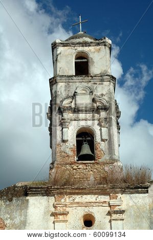 Shabby Belltower Of A Church