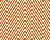 Thin Bright Orange and White Horizontal Chevron Striped Textured Fabric Background that is seamless and repeats poster