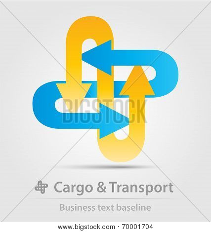 Cargo And Transport Business Icon