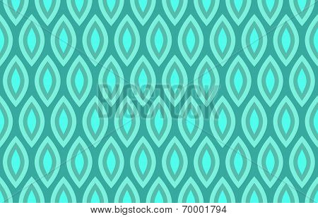 Abstract Geometric Seamless Pattern Background in Shades of Blue