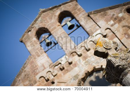 Sardinia. Bell-Gable elements