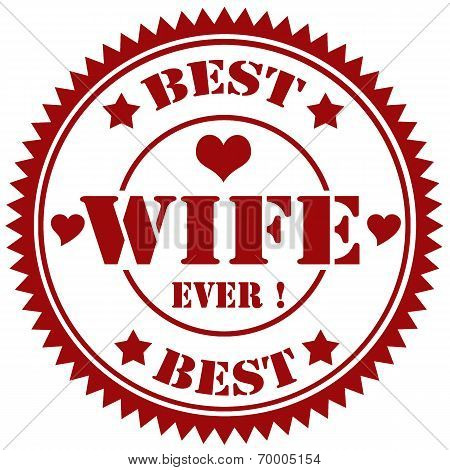 Best Wife-stamp