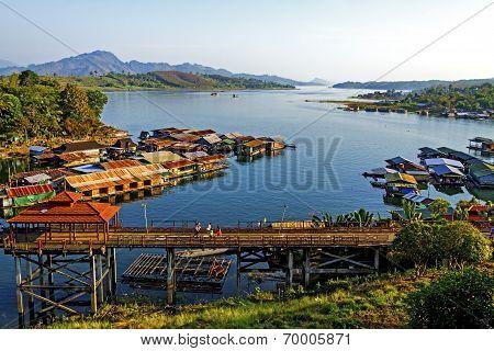 Nature On Songkarie River