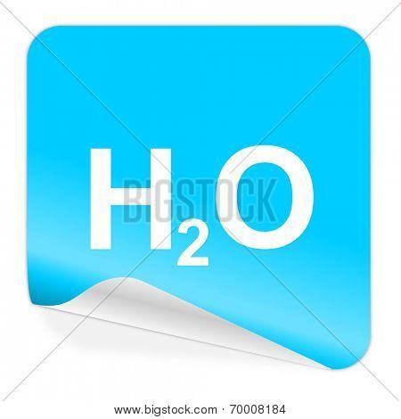 water blue sticker icon