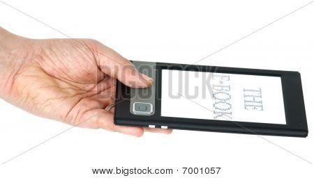 E-book Gadget In Hand