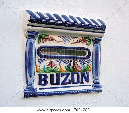 Spanish post box
