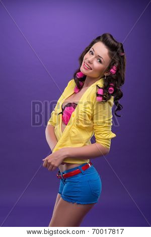 Pleasant housewife