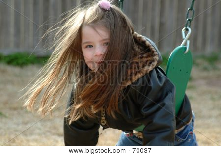 Children-Backyard Swing