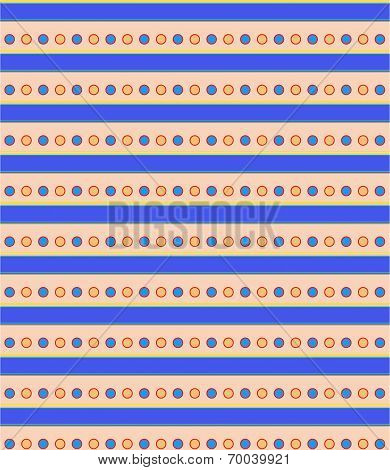 Vector Seamless Patterns, Colored Geometric Lines And Sets Of Circles