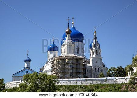 Holy Bogolyubovo Monastery. Vladimir region, Golden Ring of Russia