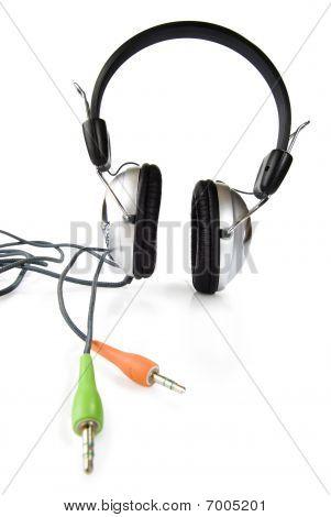 Large Headphoneswith Color Plug