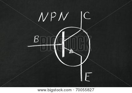 Npn Type Transistor