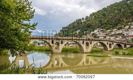 Bridge Gorica Over The River Osum
