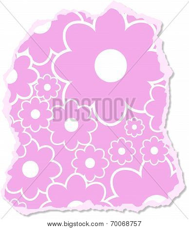 Floral Scrapbooking Paper
