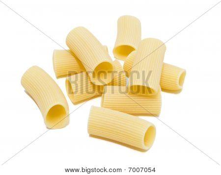 Rigatoni. Italian Pasta.