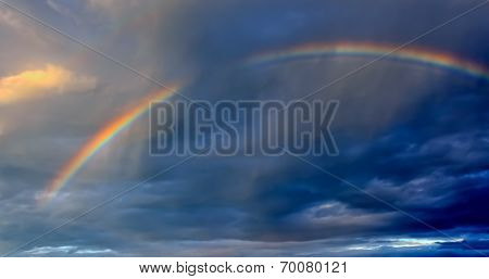 Rainbow In Dark Cloud