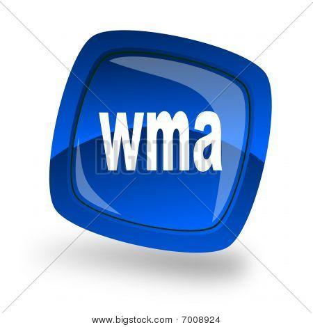 Blue Wma icon