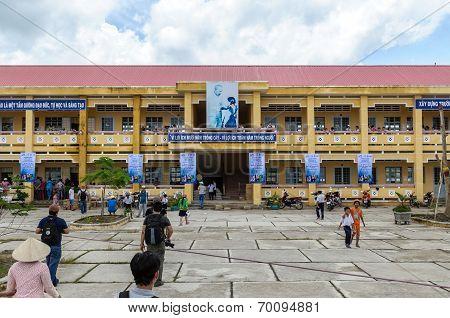 A school in Vietnam
