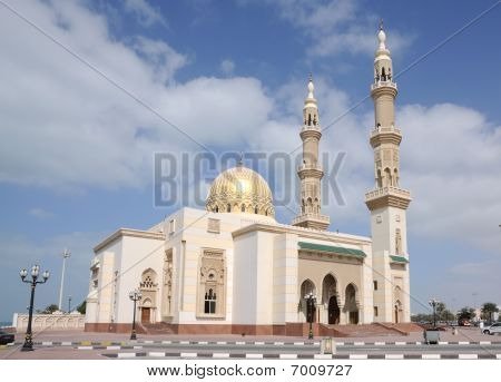 Mosque In Sharjah City