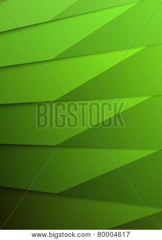 Green Layer Business Folder Mock Up Template