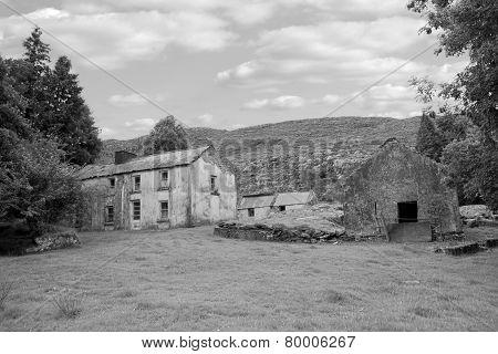 Rundown Abandoned Irish Farmhouse