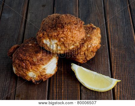 Fresh Fried Fish Cakes