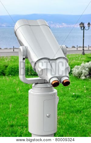 Coin Operated Sea Binoculars