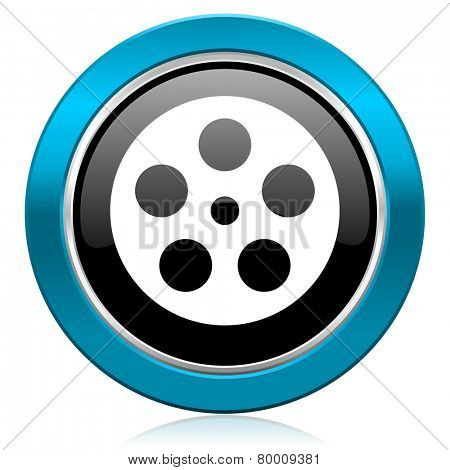 film glossy icon