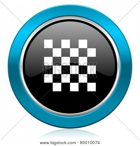 chess glossy icon