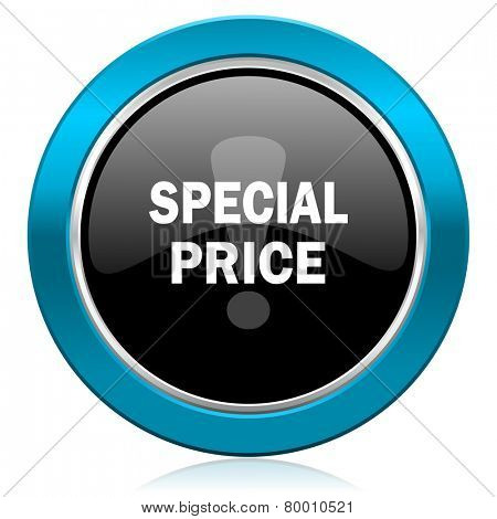 special price glossy icon