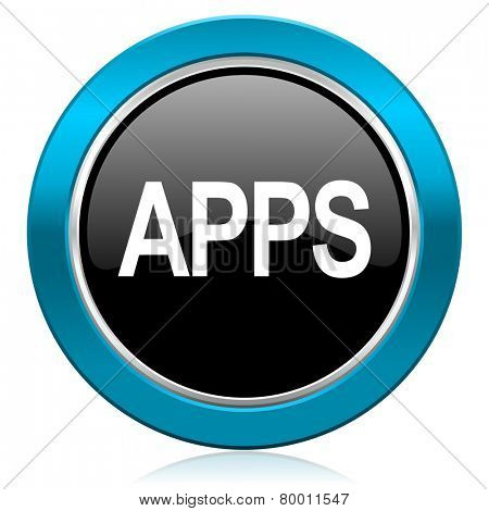 apps glossy icon