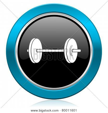 fitness glossy icon
