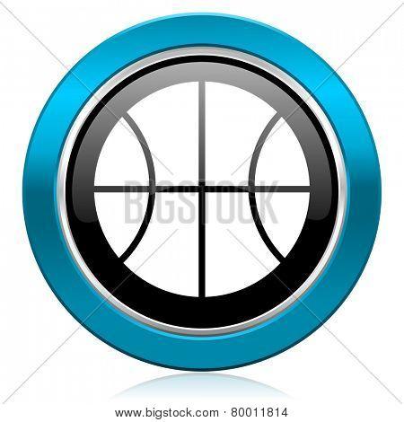 ball glossy icon basketball sign