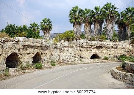 Road And Aqueduct