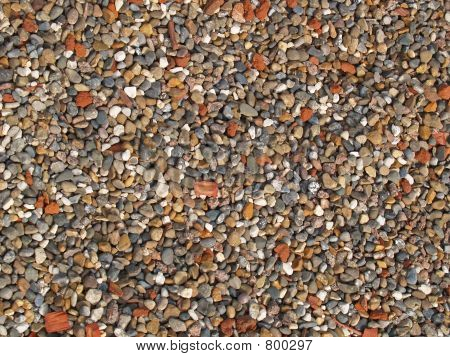 Textures of colourful  small stones