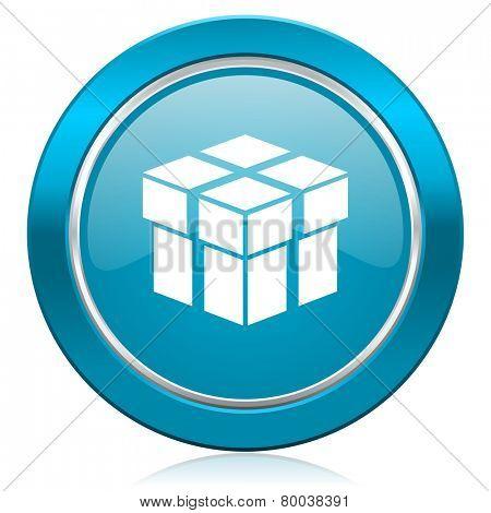 box blue icon