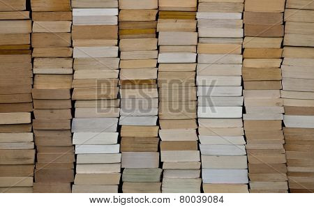 Paperback Books Background