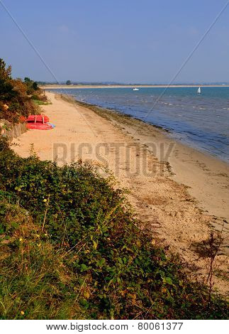 Studland beach Dorset England UK located between Swanage and Poole and Bournemouth