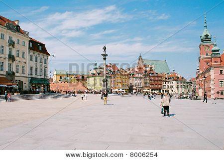 Royal Castle Square, Warsaw