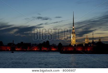 The White Nights of Saint Petersburg.