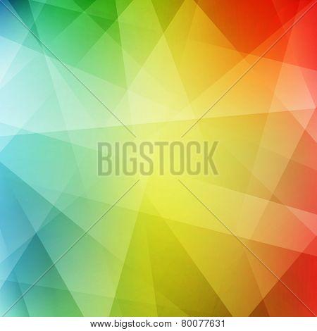 Abstract rainbow background. Modern pattern. Vector illustration.