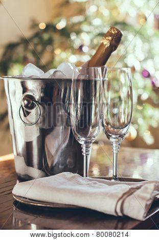Luxury Holiday Table Setting